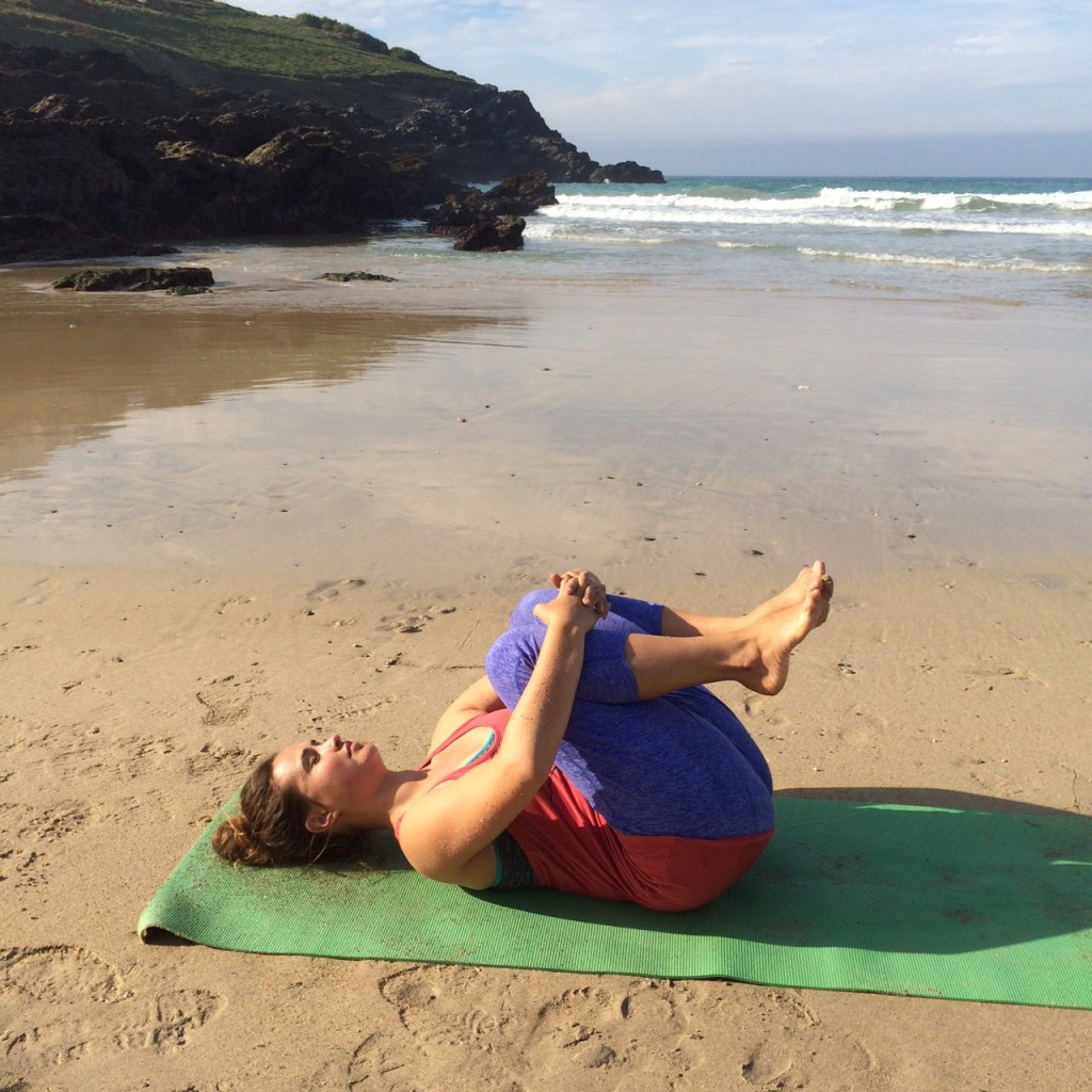 Yin yoga for your lower back and hips.