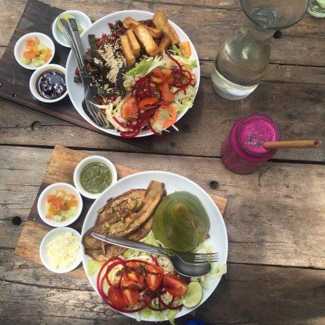 Yoga Retreat Bali Ubud Healthy Food Vegetarian