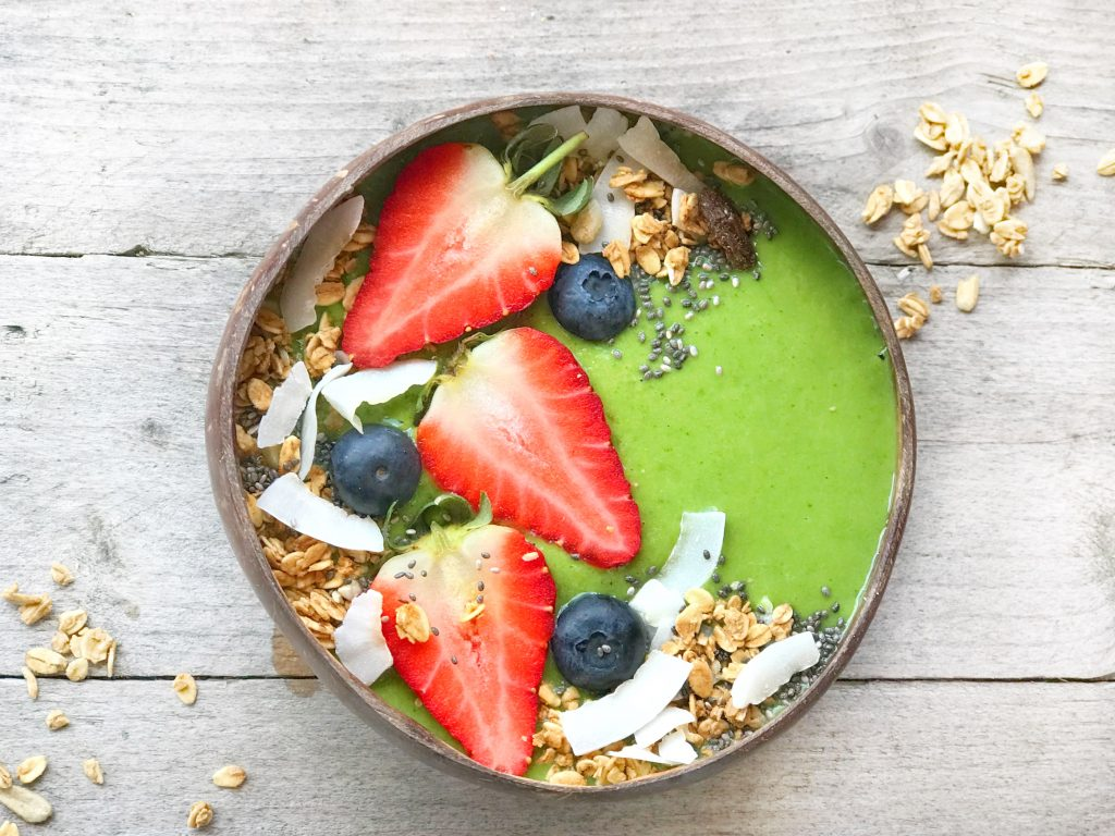 Tropical Green Smoothie Bowl Recipe