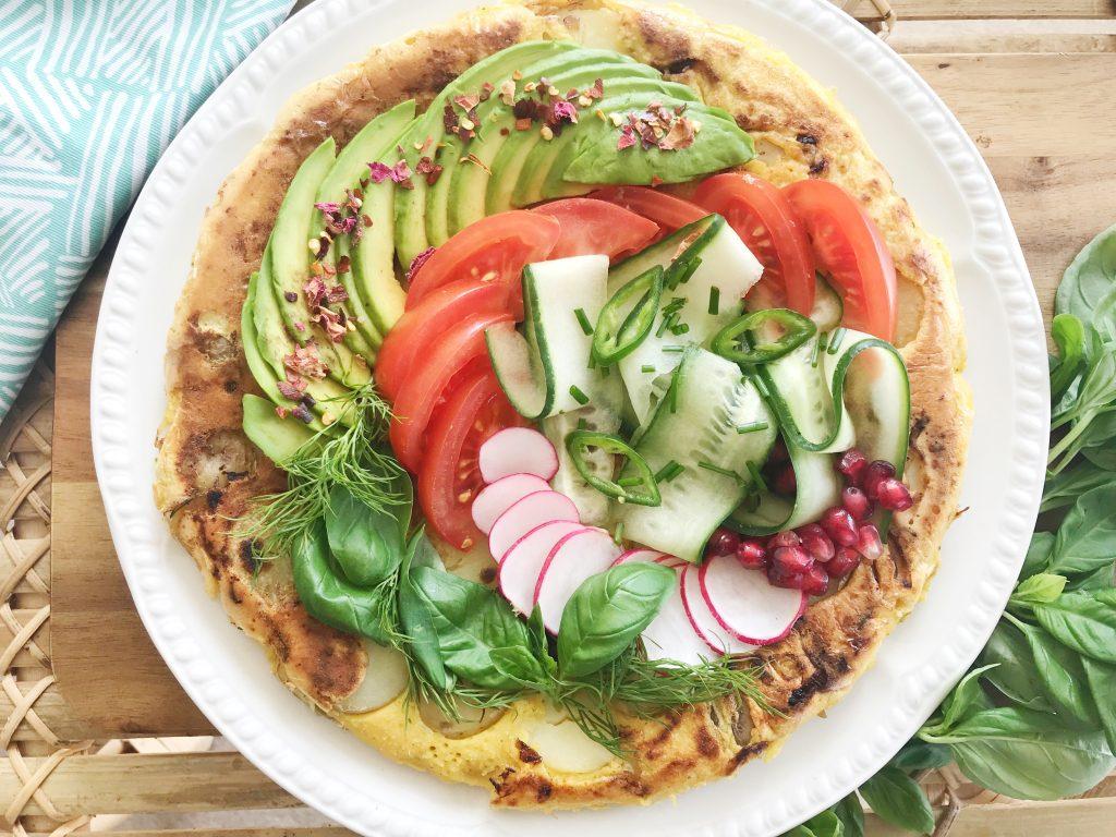 Vegan Tortilla Spanish Omelette Recipe