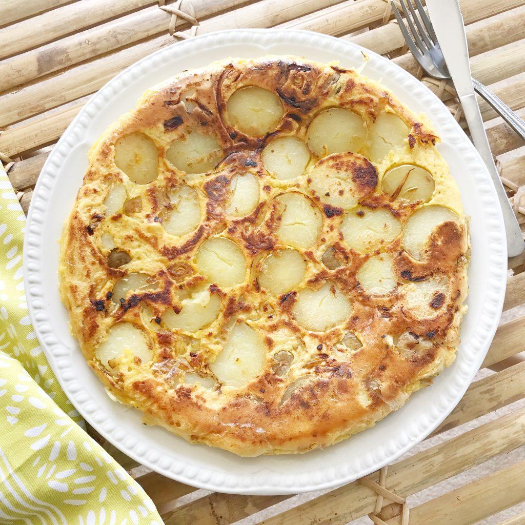 Vegan Spanish Omelette Tortilla Recipe Gram Flour