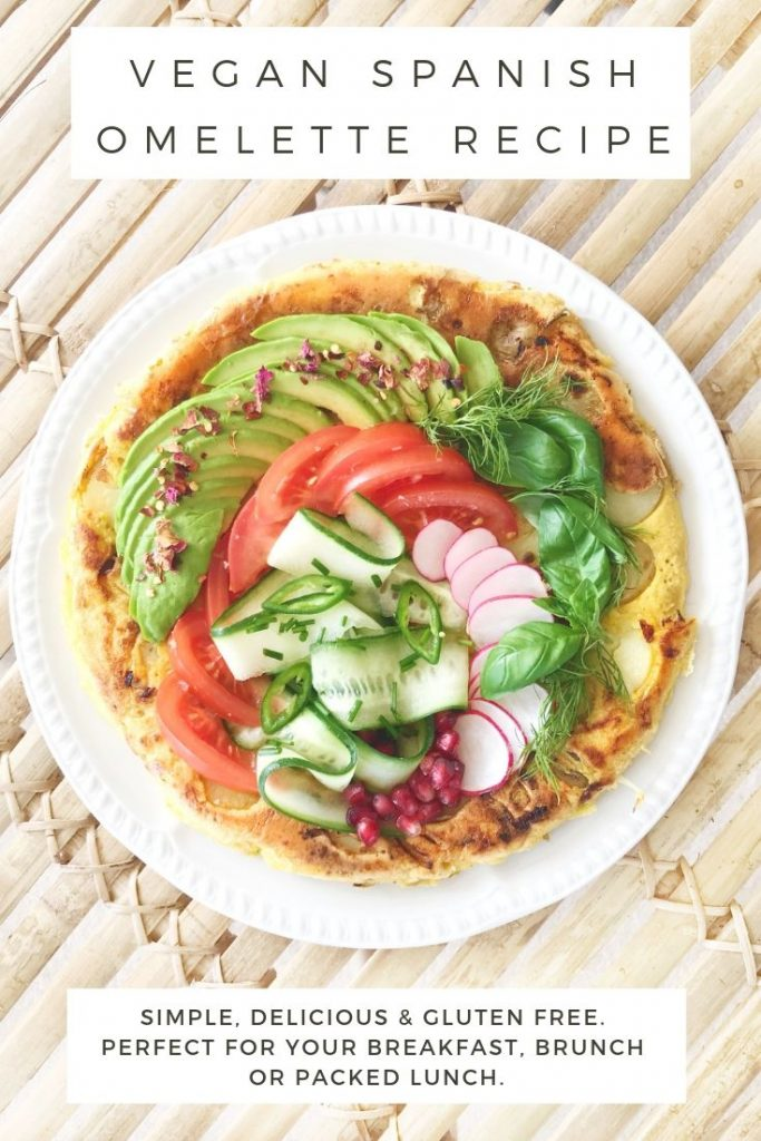 vegan spanish omelette recipe